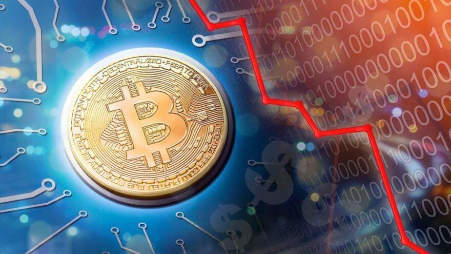 Bitcoin Fiyatı Düşmeye Başladı