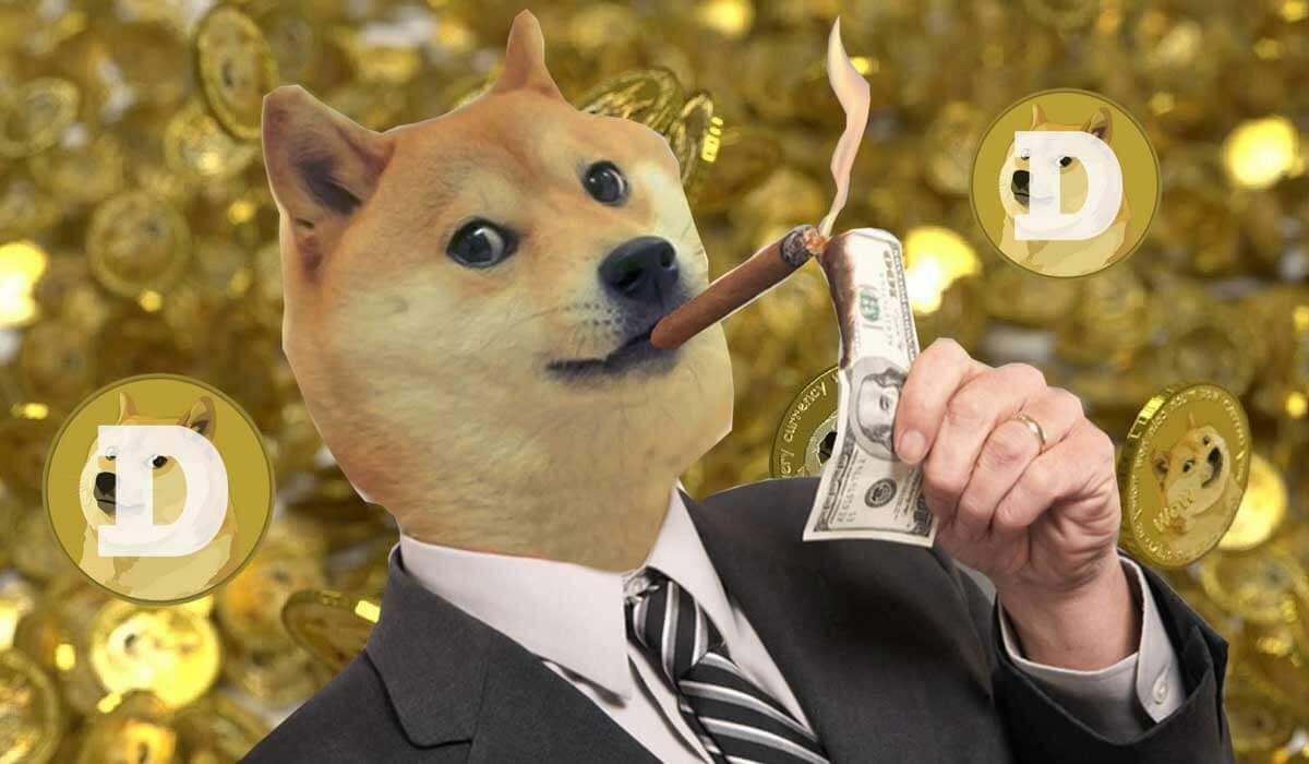 Dogecoin Artık En Büyük ilk 10 Arasında