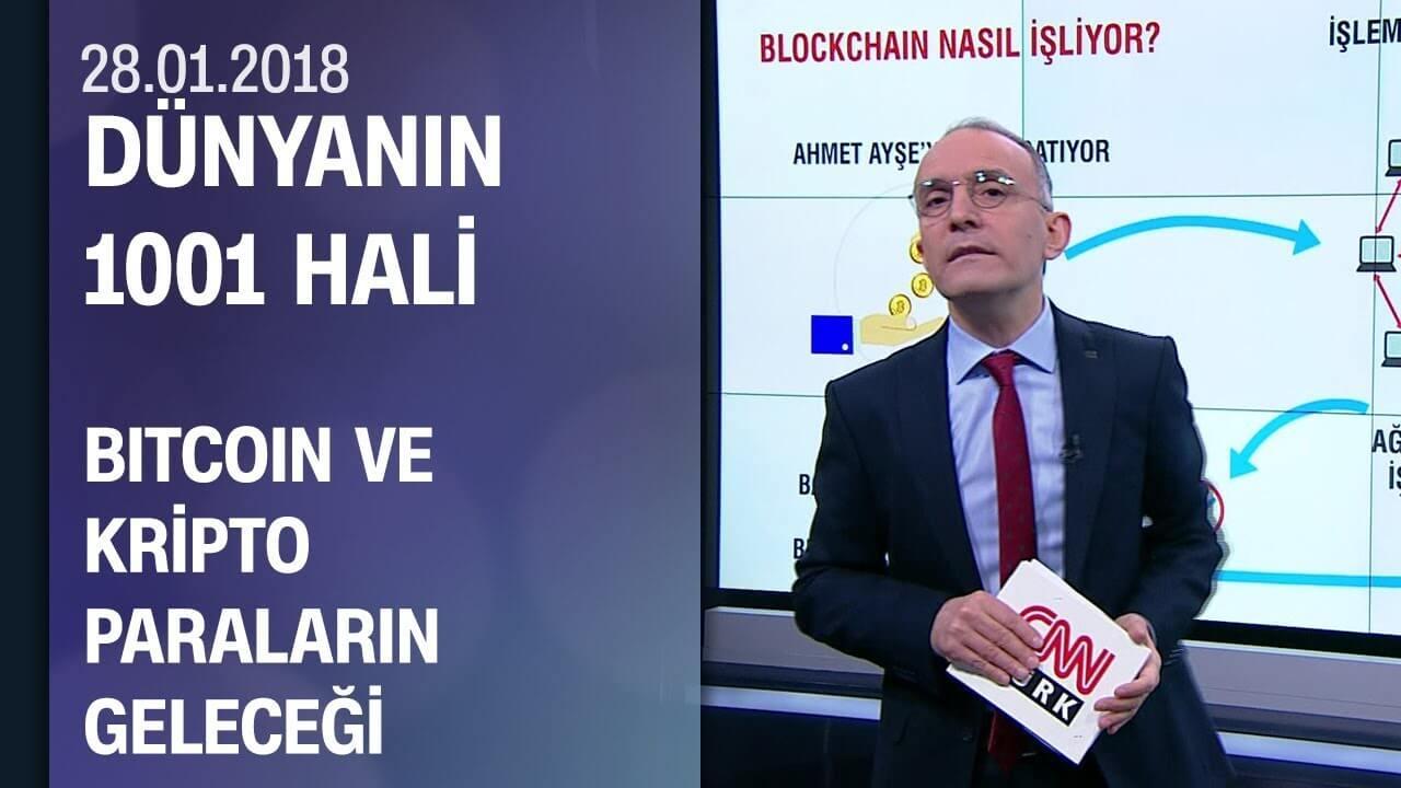 Emin Çapa, Bitcoin ve kripto paraların geleceğini anlattı 28.01.2018