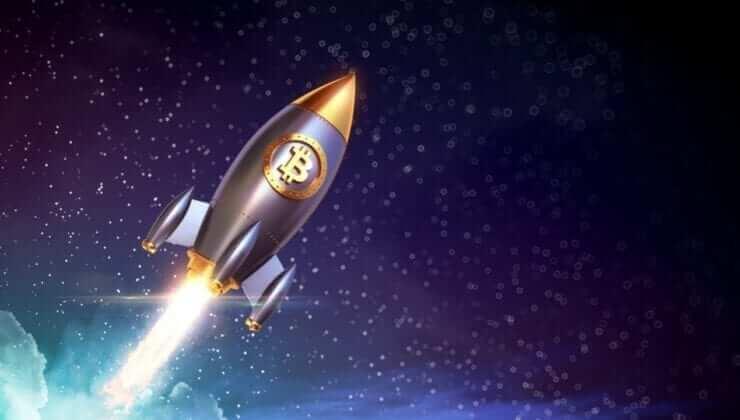 1 Bitcoin Fiyatı 44.000 Doları geçti