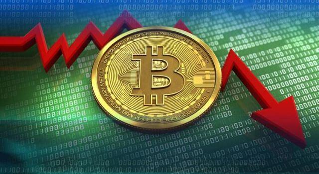Bitcoin 5 dakikada 2 bin dolar çakıldı