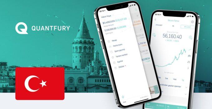 Quantfury Uygulaması Türk Kullanıcılara Kapılarını Açıyor