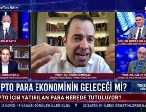 Prof. Dr. Özgür Demirtaş, Kripto Parayı Leğen ile Anlattı: Kripto Para İçin Yatırılan Para Nerede Tutuluyor?