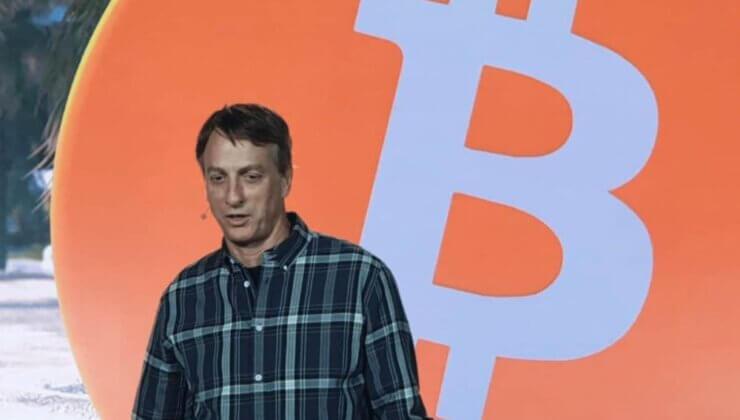 Ünlü Kaykaycı Tony Hawk Bitcoin 2021'de Sahne Aldı