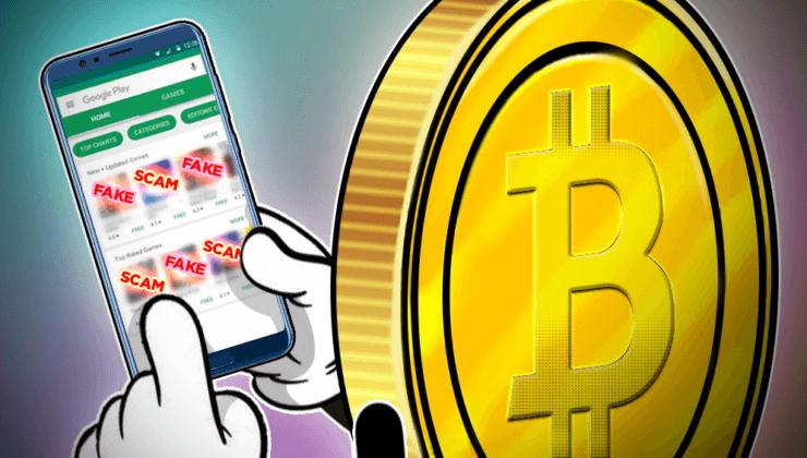 Google, Sahte kripto uygulamalarını Play Store'dan kaldırdı