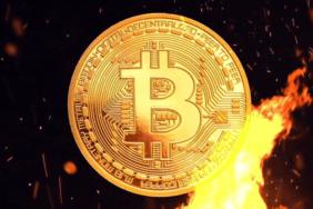 bitcoin yanıyor