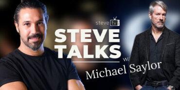 Michael Saylor: Youtube kanalı Steve TV'ye konuk oldu